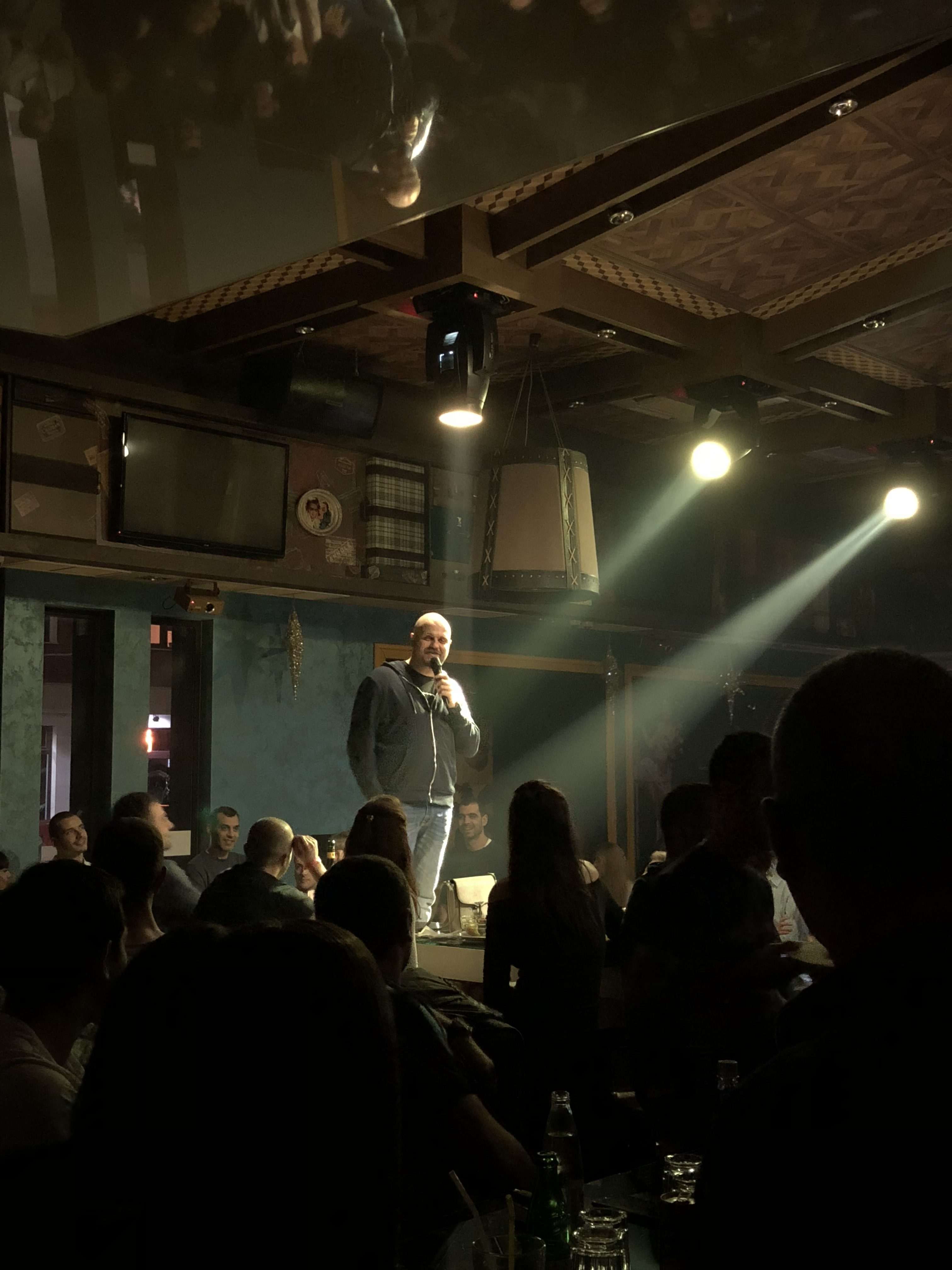 stand up comedy tour Bulgaria